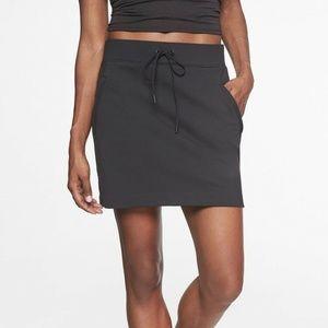 Athleta Modern Metro Skort Skirt Black
